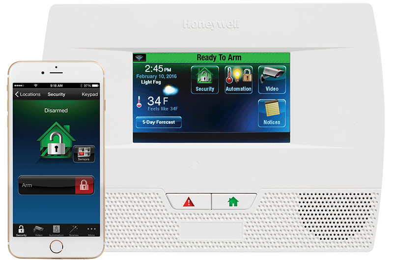 LUNX Touch 5210 All-In-One Home Control System