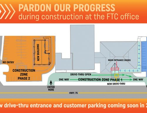 Pardon our progress during construction at the FTC office