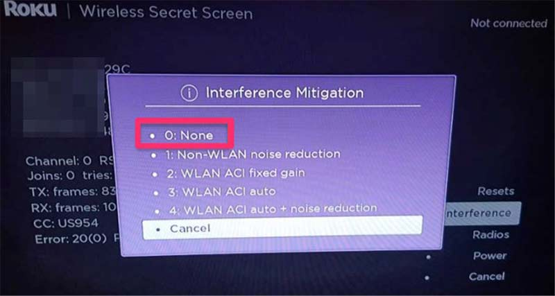 How to Resolve Roku 3 Interference