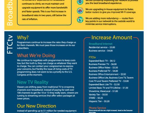 Rate Increase Facts