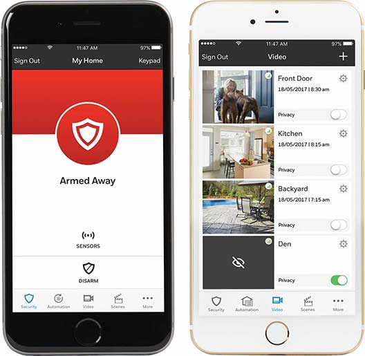 Total Connect Security App