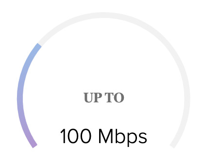 Up to 100mbps